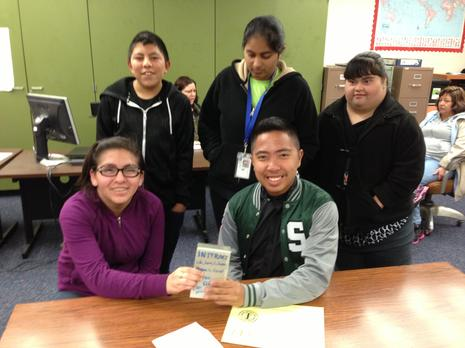 Class donates $26.52 to Interact Literacy Project