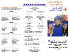 2015-16 STHS School Profile