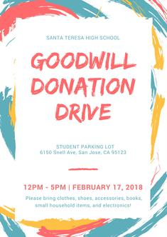 Goodwill Donation Drive!