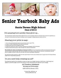 Senior Baby Ad Information