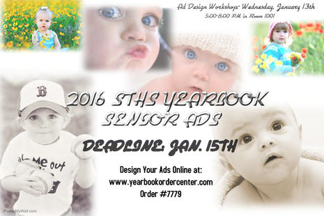 Senior Ad Design Workshop- January 13th